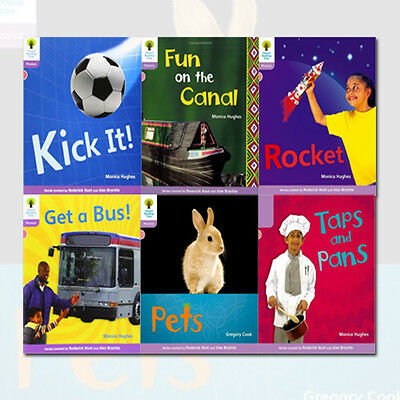 Oxford Reading Early Readers,1+:Floppy's Non-Fiction Set 6Book Paperback English