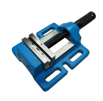 """Rdgtools 75Mm / 3"""" Drill Press Vice Moveable / Tilting Jaw Milling Engineering"""