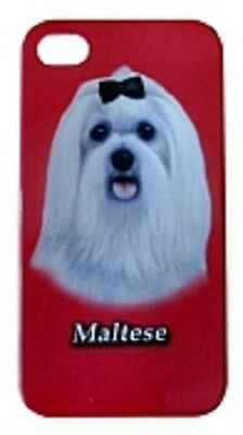 Maltese Cell Phone Cover for IPhone 4 and 4S