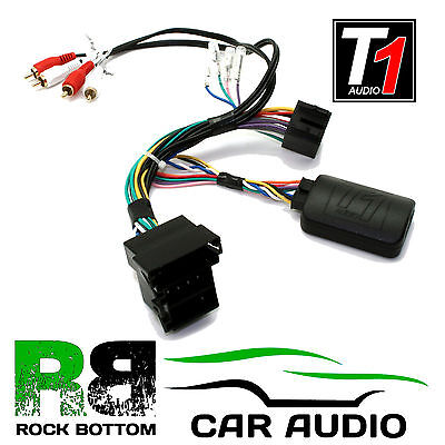 T1 Audio T1-AD3-CLARION Audi A3 A4 TT Car Steering Wheel Controls Interface Plug
