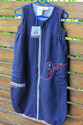 Baby Girls Boys Kids Snugtime Navy Fleece sleepwear Sleep Cosi bag Vest