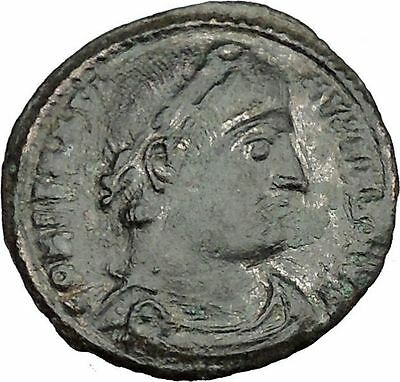 CONSTANTINE I the GREAT 330AD Ancient Roman Coin Legions Glory of army  i37625