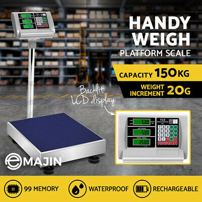 i.Precision 150kg Electronic Digital Platform Scale Computing Shop Postal Scales
