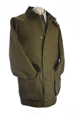 Waterproof Keeper Tweed Shooting Coat Riding/jacket New