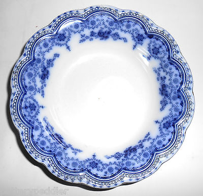 Johnson Brothers Flow Blue China Dorothy Cereal Bowl!