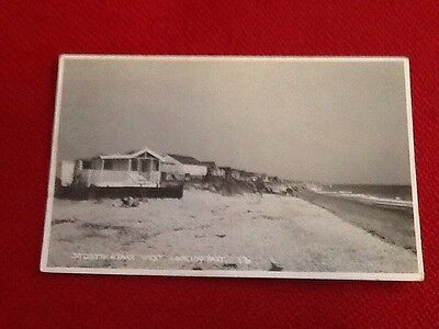 Old Postcard Of Stosyth Beach