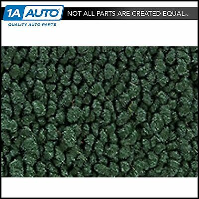 1 Piece Molded Complete Carpet 08-Dark Green 80/20 Loop for 55-57 Bel-Air Sedan