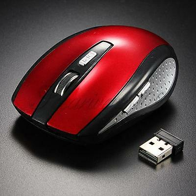 SOURIS Sans Fil Optique 2,4Ghz USB Recepteur Wireless Mouse Pr Laptop PC win7/10