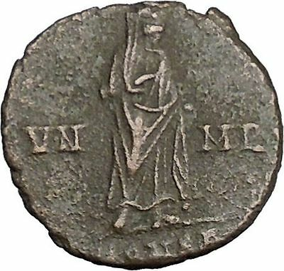 CONSTANTINE I the GREAT 347AD  Ancient Roman Coin Christian Deification  i37670