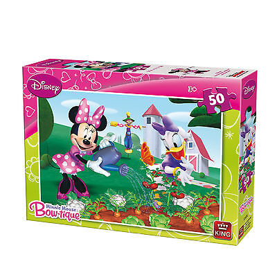 50 Piece Disney Jigsaw Puzzle Minnie Mouse & Daisy Duck -  In the Garden 05147A