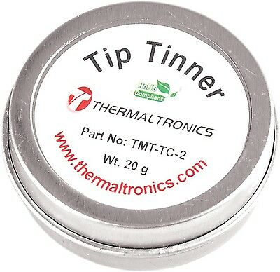 NEW Thermaltronics TMT-TC-2 Tip Tinner 20g Cleaner Prevent Oxide Metcal TTC-1