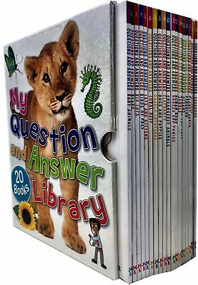 Miles Kelly My Question and Answer Library Collection 20 Books Box Set Pack