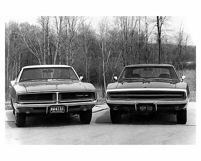 1969 and 1970 Dodge Charger Automobile Photo Poster zuc5341