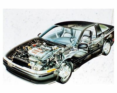 1990 Mitsubishi Eclipse GS Turbo Automobile Photo Poster zuc5453