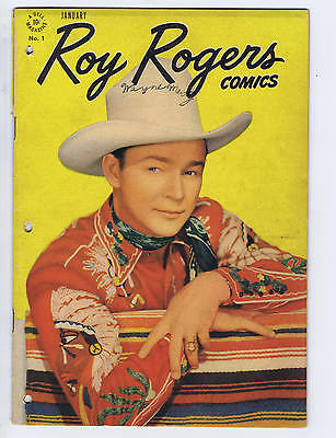 Roy Rogers #1 Dell 1948