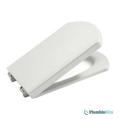 Roca Dama Senso & Compact WC Toilet Seat & Cover With Soft Closing Hinges White