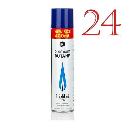 Colibri Premium 24 x 400ml Butane Large Can Original High Quality Gaz Gas