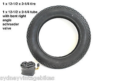 "12-1/2 x 2-1/4"" INCH TYRES KNOBBY TIRES TUBES HOTA PRAMS JOGGERS BUGGY BIKE SYD"
