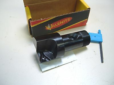 "VALENITE ECONO-MIZER 2"" INDEXABLE SPOT FACER END MILL - HOLDS 2 TPMA 433 INSERTS"