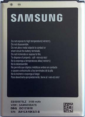 NEW OEM SAMSUNG GALAXY NOTE 2 II i317 T889 i605 R950 L900 EB595675LZ BATTERY