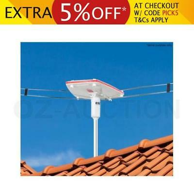 Remote-Controlled RC TV Digital Outdoor Antenna Aerial High Gain UHF VHF HD