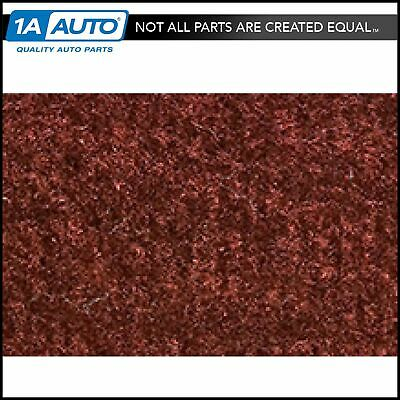 for 1984-89 Nissan 300ZX Cutpile 825-Maroon Complete Carpet Molded