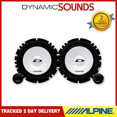 "Alpine SXE-1750S 6-1/2""(16.5cm) Component 2-Way Car Speaker Kit 280W"