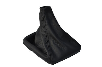 Fits Ford Transit Connect Quality Gear Boot Gaiter Black Leather