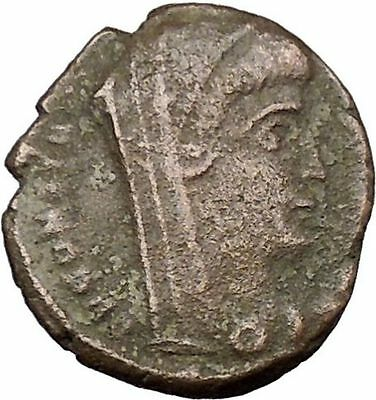 CONSTANTINE I the GREAT Cult  Ancient Roman Coin Christian Deification  i37843