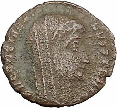 CONSTANTINE I the GREAT Cult  Ancient Roman Coin Christian Deification  i37842