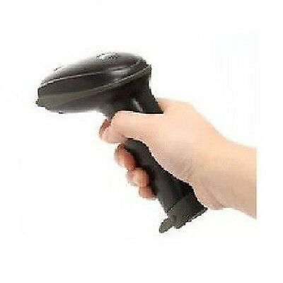 New USB Port Laser Scan Barcode Scanner Reader Black Hand Held For POS 6ft Cable