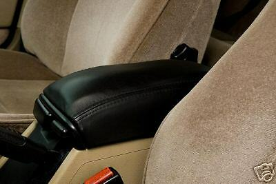 Black Leather Fits Volvo S70 V70 C70 850 S60 Arm Rest Cover Center Console Cover
