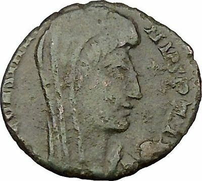 CONSTANTINE I the GREAT Cult  Heaven Chariot Ancient Roman Coin Horse  i37882