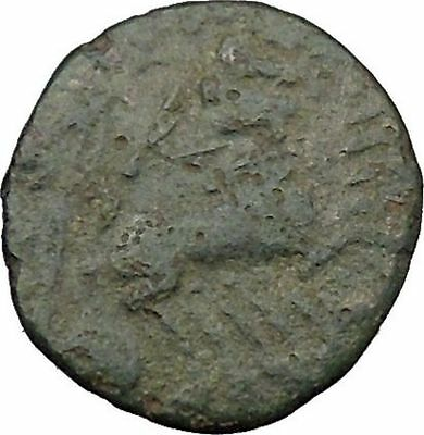 CONSTANTINE I the GREAT Cult  Heaven Horse Chariot Ancient Roman Coin i37881