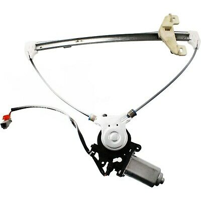 New Window Regulator Glass Passenger Right Side Rear with motor Power RH Hand