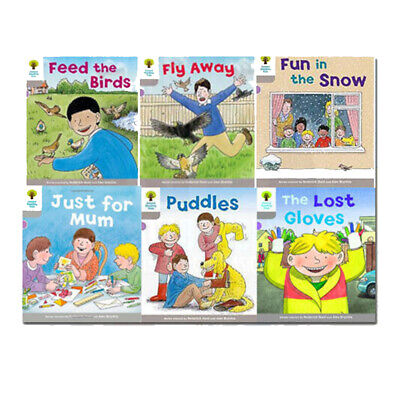 Oxford Reading Tree Level 1: Decode and Develop Collection 6 Book Set(Fly Away,