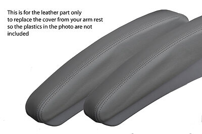 grey stitch FITS MERCEDES-BENZ V CLASS VITO VIANO 2004+ 2X GREY ARMREST COVERS