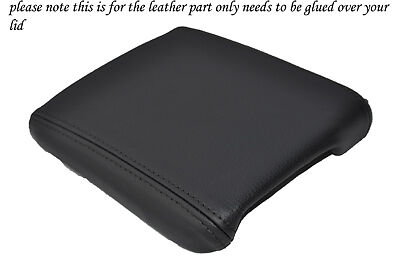 Black Stitching Fits Volvo C30 2006-1202 Leather Armrest Cover Only