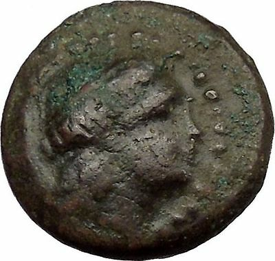 ODESSOS in THRACE 281BC Great God Derzelas & Apollo Ancient Greek Coin i37979