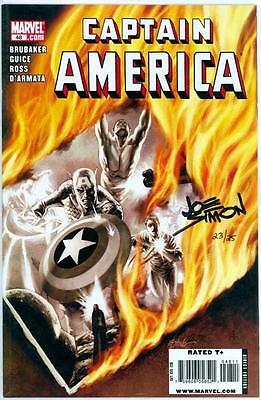 Captain America #48 Df Dynamic Forces Signed Joe Simon Coa Ltd 25 Marvel (Movie)