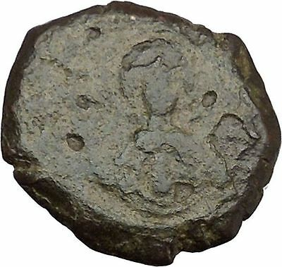 Andronicus I Comnenus 1183AD Ancient Medieval Byzantine Coin Virgin Orans i38035