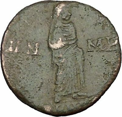 CONSTANTINE I the GREAT Cult  Ancient Roman Coin Christian Deification  i38137