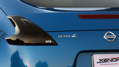 GTS Taillight Covers - Smoked for Nissan 370Z 09+ Z34