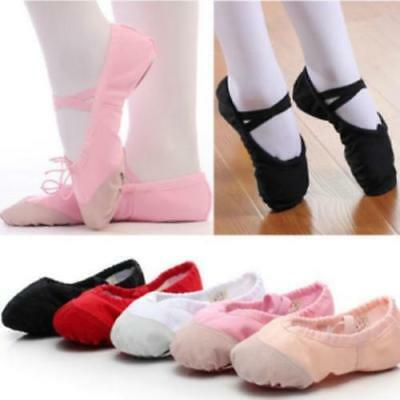 Ballet Shoes Canvas Children's & Adults Sizes For Women Girl - CB