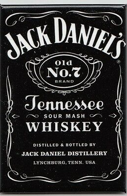 Jack Daniels Black Label Whiskey Magnet Magnetschild aus USA