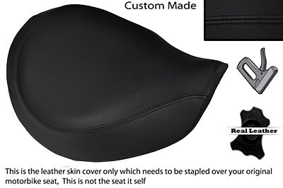 Black Stitch Custom Fits Triumph America Bonneville Speedmaster Front Seat Cover