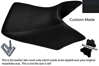Black Custom 04-08 Fits Honda Cbf 500 600 Front Leather Seat Cover
