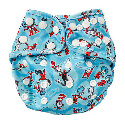 Bumkins Waterproof Cloth Diaper Cover with Snaps - One Size