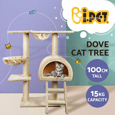 Cat Scratching Post Tree Gym House Scratcher Poles Furniture Toy Small 95cm