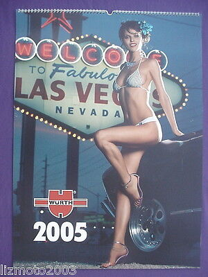 2005 WURTH CALENDAR - gorgeous ladies of Las Vegas